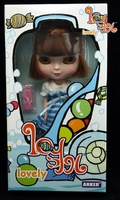 hot selling Icy blythe doll 26cm/ 10' inch tall ( 1pcs/ lot) beautiful and lovely exquisite boxed loading  free shipping