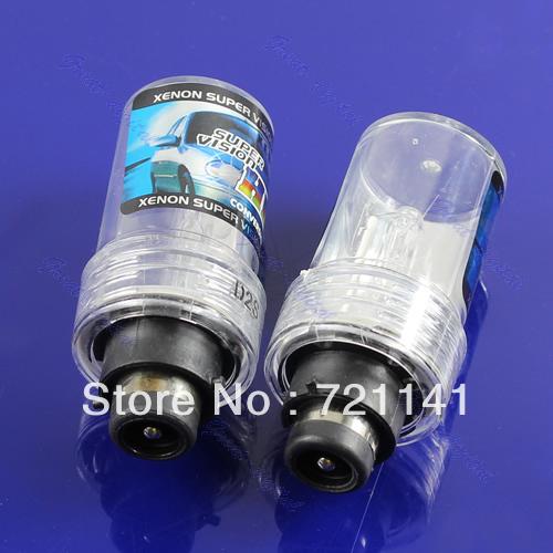 B39Free Shipping 2pcs D2S HID Xenon Replacement Light Lamp Bulb Car Headlight Lighting 35W 6000K(China (Mainland))