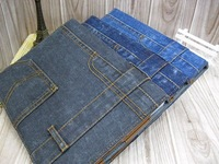 1-5PC Newest  Jeans Pattern Fashion and Cool Magnetic Smart Cover Case for iPad 4 3 2 TOP Qualiy Free Shipping