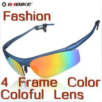 Free Shipping Inbike Brand Cycling Bicycle Bike Outdoor Sports Sun Glasses Eyewear Goggle Sunglasses - Fashion 4 Colors