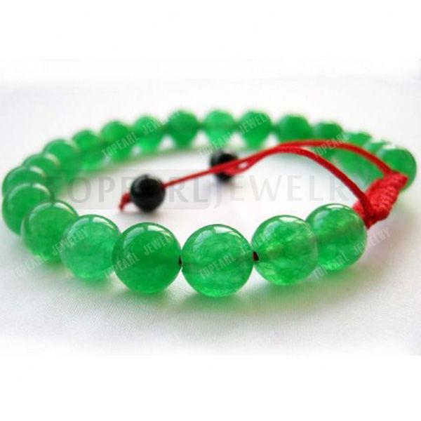 Hydia 3pcs Jóias oito milímetros Verde Jade budista tibetano Mala Meditação Pulseira SBR125(China (Mainland))