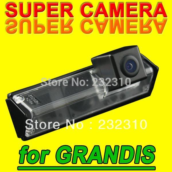 Hot car rear view back up parking camera for Grandis from 2009 auto waterproof high-solution NTSC PAL( Optional) for GPS Radio(China (Mainland))