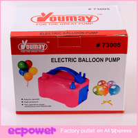 US Plug Inflator Double Electronic Air Balloon Pump For Party Holidays 1 set Free Shipping