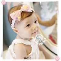 Baby Headband Infant girls Flower Headbands Shabby chiffon flower Newborn toddler headband 5pcs/lot