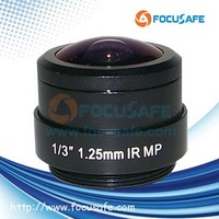 1.25mm CS Mount Megapixel Fisheye Lens