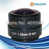 1.25mm CS Mount Megapixel Fisheye Lens