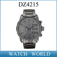 HK post free shipping DZ4215 Men's Quartz watch stainless steel watch DZ 4215 Wristwatches  +original box