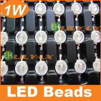 500pcs 1W led chips Blue color wave length 450-455nm good growth plant led beads for grow light