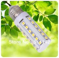 5W LED corn bulb, 36pcs SMD5050 chip, E27/B22/E14 socket, high lumen, voltage AC200-240V, beam angle 360 degree, cheap price