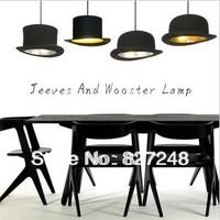 modern style lamp design items 110v 220v e14 E14*1 lamp holder Jeeves Wooster Top hat pendant lights aluminum indoor hat lamps