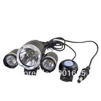 3x CREE XML XM-L T6 LED 3800Lum Bicycle Light HeadLamp SET