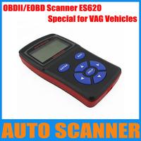 New Arrival OBDII code reader ES620, E-SCAN VAG PRO+OBD scanner, Car Code scanner special for VAG Vehicles, VAG car code reader