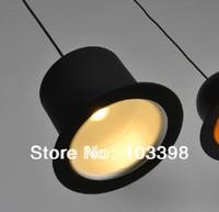 Wholesale power110v 220v e14 E14*1 lamp holder Jeeves Wooster Top hat pendant lamps aluminum hat lights for residential lighting