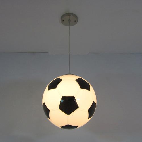 slaapkamer lamp hanglamp voetbal cartoon kind slaapkamer lamp licht ...