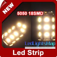 EMS Free Shipping Mini G4 5050 LED Pin Lamp 18 SMD Warm White Light Marine Camper Car Bulb Light Wholesale 100pcs/lot
