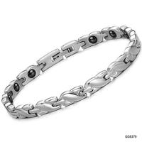 Vintage JEWELRY Power Energy Balance Magnetic Women Bracelet Tourmaline Bracelets With Magic Stone Women Jewelry 8379