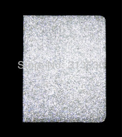Super Bling  Leather Stand Cover Case  for iPad 2/3/4/New iPad  Made with swarovski elements Crystal,Free shipping