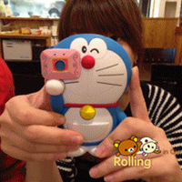 Janpanese Doraemon A dream cartoon cell phone case for Apple iphone 4/4s free shipping