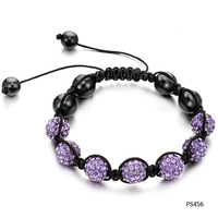 (min order 10$)OPK European & the United States fashion shamballa & magnetic weaved bracelets & bangles for lady 456