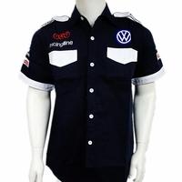 volkswagen  F1 automobile race motorcade car Team racing clothing short-sleeve shirt T-shirt cotta T-shirts