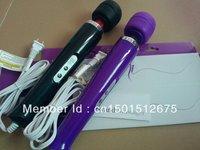 10 Speed Magic Wand Massager with Hitachi Head AV Vibrator AV Magic Wand HandHeld Massager Sex Toys for Women 10pcs/lot