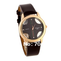 woman watch 2013 watches women WOMAGE A380 Women's Analog Watch with PU Leather Band