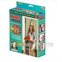 Magic Mesh Hands-Free Screen Door Curtain Net Magnetic Anti Mosquito Bug Divider Curtain hgw0006