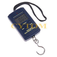 20g-40Kg Digital Portable Pocket Electronic Hanging Luggage Fishing Weight Scale