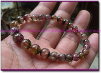 6-9mm style natural watermelon tourmaline bracelet 1 1