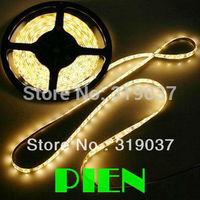 3528 SMD LED Strip Light Ribbon Flexible SMD Non Waterproof 60LED/M 300 LED/5M White|Blue|Red|Green Ribbon Free Shipping 5M/lot