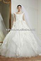 Hot Selling 2013 Zuhair Murad Sequred Pleat Off Shoulder Ball Gown Wedding Dresses in Dubai