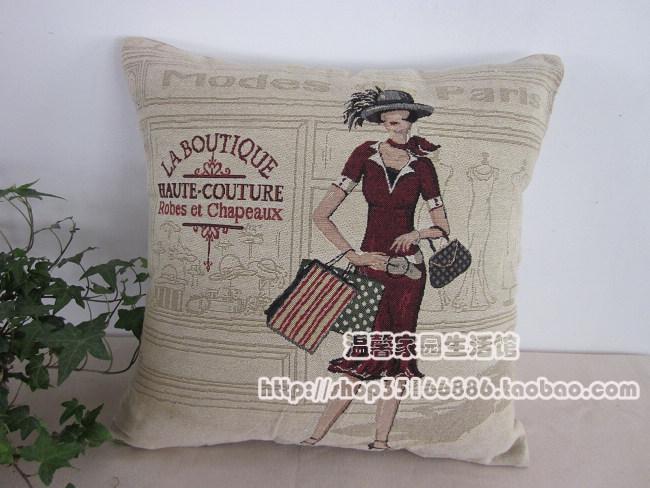 Fashion shopping fashion fluid sofa car cushion nap pillow elegant shopping(China (Mainland))