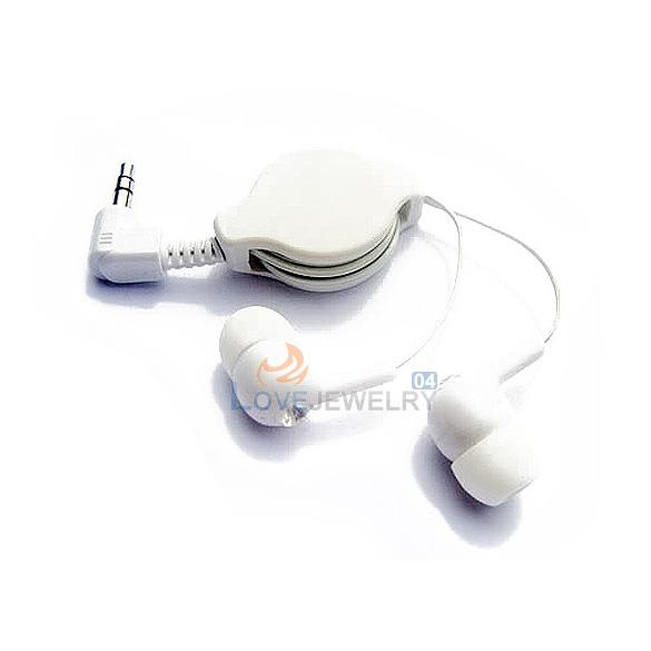 LY4# For Mp3 MP4 Retractable InEar Earphone Headphone P(China (Mainland))
