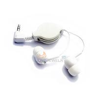 LY4# For Mp3 MP4 Retractable InEar Earphone Headphone