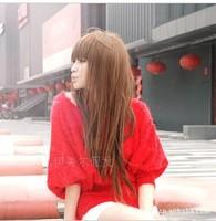 Fashion women  head hair long wigs women gift Free shipping G007