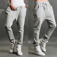 2013 summer sports pants male thin casual sports pants male taper pants male harem pants