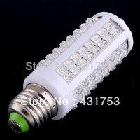2014 Top Fasion Real 110v Ce (free Shipping )110v/ac 5pcs Super Bright Led Bulb E27 Lights with 108 360 Degree Corn Light Lamp