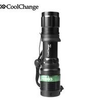 2013 CoolChange Bicycle Light / Flashlight / Outdoor Ride Sportswear/ Mountain Bike /Bicycle Headlight +Free shipping