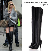 2013 autumn and winter fashion knee-length boots high-heeled boots repair snow boots platform women's shoes high-leg boots