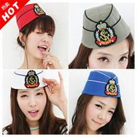 2 hinggan sailor cap vintage millinery navy hat fashion hat