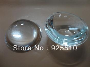 5PCS X 63.7MM 10-100W integrated light source LED lens optical lens / optical glass lens