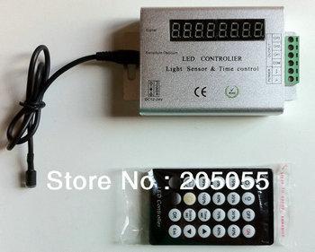 New 24 Key Light Sensor Time IR Remote Controller Dimmer For Led 3528 5050 Strip Light