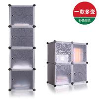 Free shipping Diy clothes storage cabinet finishing storage cabinet baby child wardrobe plastic magic cube cabinet
