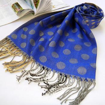 2013 hot coat women fashion scarf wool imitation bows long shawl wrap with tassel cashmere bandage for head decoration fashion