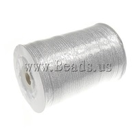 Free shipping!!!Sparkle Ribbon,New Arrival, silver, 3mm, Length:880 Yard, Sold By PC