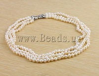 Free shipping!!!Natural Freshwater Pearl Necklace,Men Fashion Jewelry, Cultured Freshwater Pearl, brass hook and eye clasp