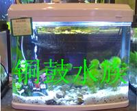 Free shipping Minjiang 60cm 0.6 meters insufficiencies r3 580 small glass mini goldfish bowl desktop aquarium