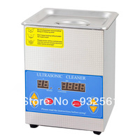 Free shipping factory direct steel Digital Ultrasonic Cleaner LTA-12DHT 2000mL