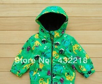 Free shipping WT47 2013 autumn and winter hot Boys Jacket outwear children's tench coats Baby  Kids Clothing With hood