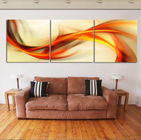 Free Shipping 3 piece wall art big size 50cm*50cm Home Decor Modern Picture Set  on Canvas Painting printed art picture